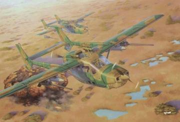 Reims FTB337G Lynx Bush war · RD 628 ·  Roden · 1:32