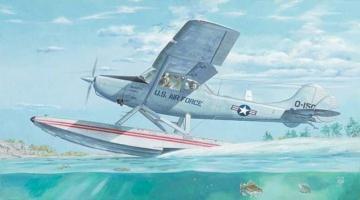 L-19/O-1 Bird Dog Floatplane · RD 629 ·  Roden · 1:32