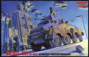 Sd.Kfz. 231 Schwerer Panzerspähwagen · RD 702 ·  Roden · 1:72