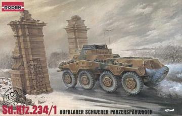 Sd.Kfz 234/1 Puma · RD 703 ·  Roden · 1:72