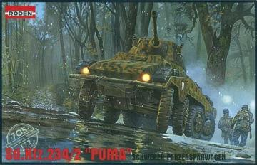 Schwerer Panzerspähwagen Sd.Kfz. 234/2 Puma · RD 705 ·  Roden · 1:72