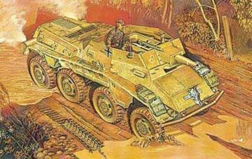 Sd.Kfz.234/3 Schw.Pz.kanonenwg. · RD 707 ·  Roden · 1:72