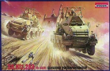 Sd.Kfz. 263 (8-Rad) Schwerer Panzerfunkwagen · RD 708 ·  Roden · 1:72
