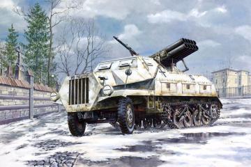 Sd.Kfz. 4/1 Panzerwerfer 42 (early) · RD 712 ·  Roden · 1:72