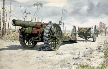 BL 8-inch Howitzer Mark VI · RD 716 ·  Roden · 1:72