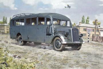 Opel Blitz Bus 3.6-47 type W39 Ludewig · RD 720 ·  Roden · 1:72