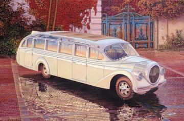 Opel Blitzbus Ludewig Aero (1937) · RD 724 ·  Roden · 1:72