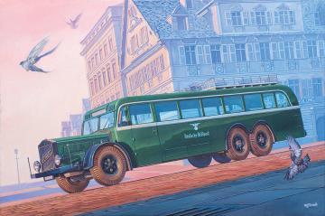 Vomag Omnibus 7 OR 660 · RD 729 ·  Roden · 1:72
