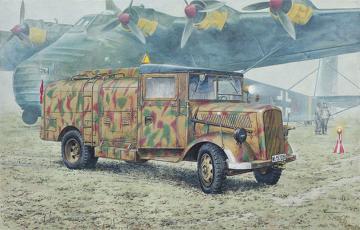 Opel Blitz Kfz.385 Tankwagen · RD 730 ·  Roden · 1:72