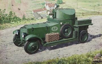 British Armoured Car (Pattern1920 Mk.I) · RD 731 ·  Roden · 1:72