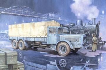 Vomag 8 LR LKW WWII German Heavy Truck · RD 738 ·  Roden · 1:72