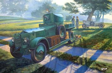 WWII British Armoured Car Pattern 1920 Mk.I · RD 801 ·  Roden · 1:35