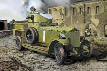 British Armoured Car (Pattern 1914) · RD 803 ·  Roden · 1:35