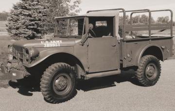 Dodge M-37 3/4 ton 4x4 cargo truck · RD 806 ·  Roden · 1:35