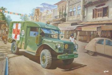 M43 3/4 ton 4x4 Ambulance Truck · RD 811 ·  Roden · 1:35