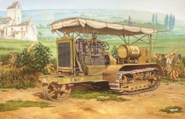 Holt 75 Artillery tractor · RD 812 ·  Roden · 1:35