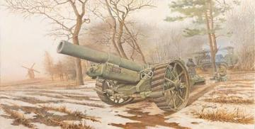 BL 8-inch Howitzer Mk.VI · RD 813 ·  Roden · 1:35