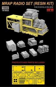 MRAP Radion Set (Resin Kit) · RFM 1002 ·  Rye Field Model · 1:35