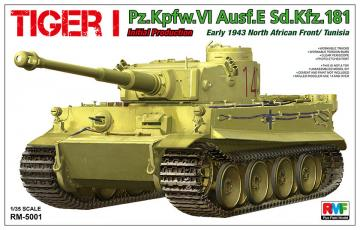 Tiger I Initial Production Early 1943 · RFM 5001 ·  Rye Field Model · 1:35