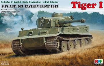 Tiger I Early Production w/Full Interior · RFM 5003 ·  Rye Field Model · 1:35