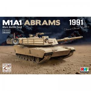 M1A1 Abrams Gulf War 1991 · RFM 5006 ·  Rye Field Model · 1:35