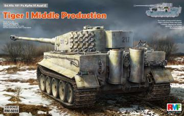Tiger I Middle Production Full Interior · RFM 5010 ·  Rye Field Model · 1:35