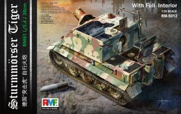 Sturmtiger With Full Interior · RFM 5012 ·  Rye Field Model · 1:35