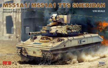 M551A1/ A1TTS SHERIDAN · RFM 5020 ·  Rye Field Model · 1:35