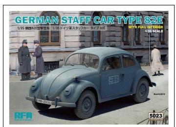 German Staff Car Type 82E · RFM 5023 ·  Rye Field Model · 1:35