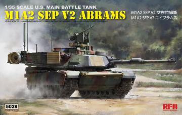 M1A2 SEP V2 Abrams · RFM 5029 ·  Rye Field Model · 1:35