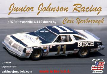 Cale Yarborough #11, Junior Johnson Olds 442, 1979 · JR 559752 ·  Salvinos JR Models · 1:25