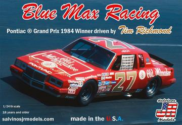 Tim Richmond, Blue Max Racing 2+2, 1984 · JR 559906 ·  Salvinos JR Models · 1:25