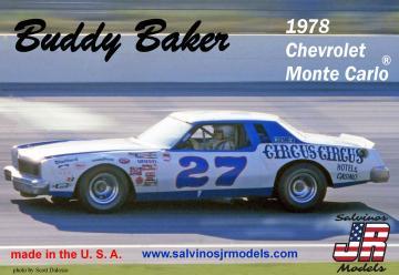 Buddy Baker #27, Chevrolet 1978 · JR 559918 ·  Salvinos JR Models · 1:25