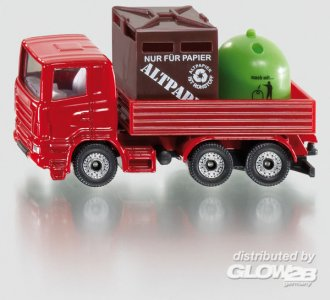 Recycling-Transporter · SIK 0828 ·  SIKU