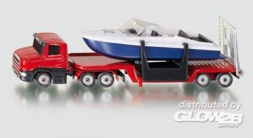 Tieflader mit Boot · SIK 1613 ·  SIKU