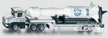 Tieflader mit Rakete · SIK 1614 ·  SIKU