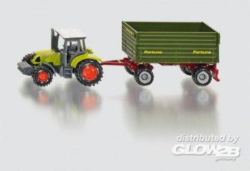 Traktor mit 2-Achs-Anhänger · SIK 1634 ·  SIKU