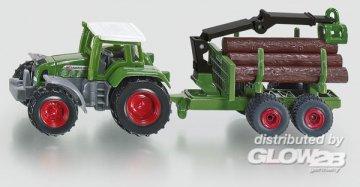 Traktor mit Forstanhänger · SIK 1645 ·  SIKU