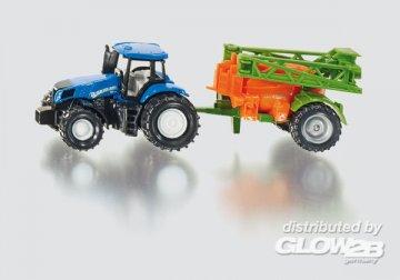 Traktor mit Feldspritze · SIK 1668 ·  SIKU