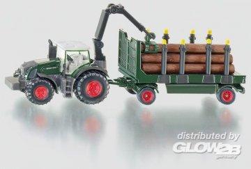 Traktor mit Holzanhänger · SIK 1861 ·  SIKU