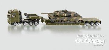 Tieflader mit Panzer · SIK 1872 ·  SIKU
