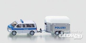 Polizei PKW mit Pferdeanhänger · SIK 2310 ·  SIKU