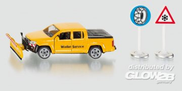 VW Amarok Winterdienst · SIK 2546 ·  SIKU