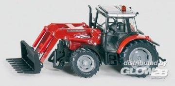 Traktor mit Frontladergabel · SIK 3653 ·  SIKU