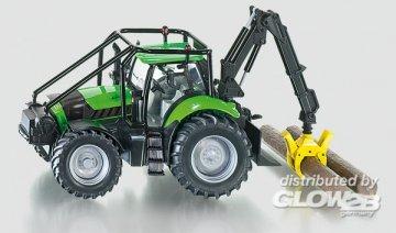 DEUTZ-FAHR Agrotron Forsttraktor · SIK 3657 ·  SIKU
