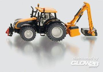 Traktor mit Kuhn Böschungsmähwerk · SIK 3659 ·  SIKU