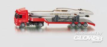 LKW mit Power-Boat · SIK 3936 ·  SIKU