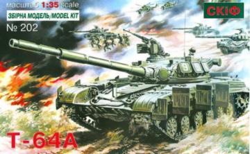 T 64 A Soviet Main Battle Tank · SF 202 ·  Skif · 1:35