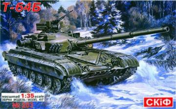 T 64 B Soviet Main Battle Tank · SF 203 ·  Skif · 1:35