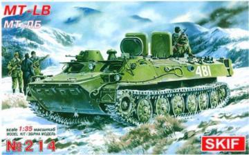 MT-LB Truppentransporter · SF 214 ·  Skif · 1:35